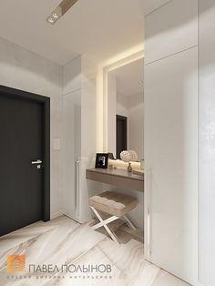 Фото: Дизайн интерьера холла - Интерьер однокомнатной квартиры в современном стиле