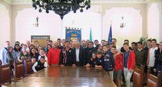 Chieti scambio socio-sportivo-culturale Usa Italia [VIDEO]