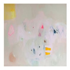 Lola is a darling little artist from Ireland and has a knack for textural and interesting abstract paintings. Thislimited edition fine art giclee printis soft