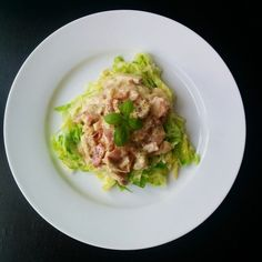 Lowcarbonara Lchf, Keto, Cabbage, Paleo, Pork, Rice, Chicken, Vegetables, Breakfast