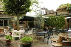 best outdoor terraces and beer gRDENS app Brilliant tours thorugh your smartphone Patio Design, Garden Design, Beer Garden, Rooftop, High Road, Around The Worlds, London, City, Gallery