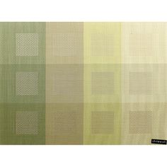 Engineered Squares Chilewich Placemat, Green $16.95