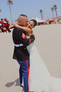work by jasmine #usmc wedding #usmc #marine wedding #camppendleton #love #couples #usmclove