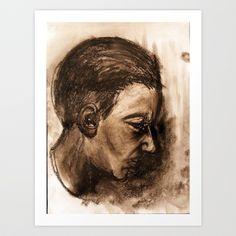 Scream #32 Art Print by Yousef Balat @ Hoop Snake Graphics LLC - $17.00