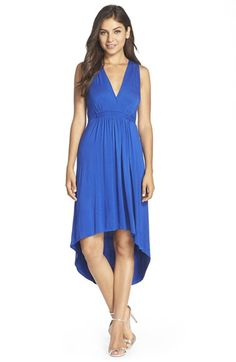 FELICITY & COCO Pleated High/Low Dress (Nordstrom Exclusive) available at #Nordstrom