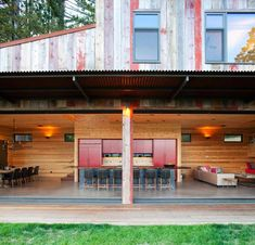 """Stunning Contemporary Retreat with Rustic Look by CCS ArchitectureSan Francisco-based studioCCS Architecturehas designed the Aptos Retreat project, a 2,800 square foot retreat residence comprising """"a""""living... Architecture Check more at http://rusticnordic.com/stunning-contemporary-retreat-with-rustic-look-by-ccs-architecture/"""