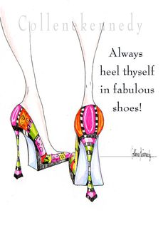 Illustrated high heel shoe print with funny shoe quote – Shoes 2020 Heels Quotes, High Heel Quotes, Funny Shoes, Pam Pam, Shoe Boots, Shoes Heels, Fab Shoes, Stiletto Shoes, Dior