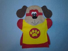 Super Hero Dog Puppet These are Hand Puppets Made from felt In this listing you get Super Hero Dog You can order them in any color I can do different Puppets For Sale, Puppets For Kids, Puppet Making, Felt Quiet Books, Thomas The Train, Finger Puppets, Felt Crafts, Paper Dolls, 2nd Birthday