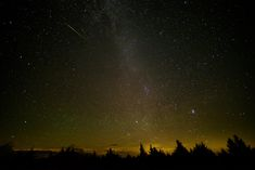 Perseid Meteor Shower 2016 from West Virginia