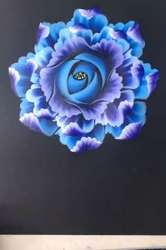 Painting Flowers Tutorial, Acrylic Painting Flowers, Canvas Painting Tutorials, Diy Canvas Art, Diy Painting, Easy Flower Painting, One Stroke Painting, Watercolor Art Lessons, Art Drawings Sketches Simple