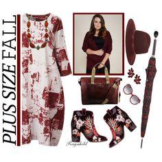 Fall Look: Plus Size Dress