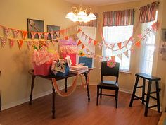 Flag Banner for Baby Shower - Fabric Flags