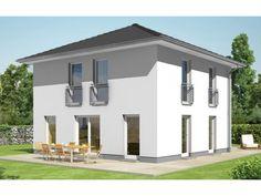 Stadtvilla modern mit balkon  Designhaus Eliasch - #Einfamilienhaus von Baufritz | HausXXL ...