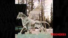 Espectaculares esculturas de hielo y nieve. Algunas de las mejores esculturas de hielo y nieve