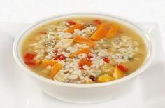 Reissuppe mit Hühnchen Rezept