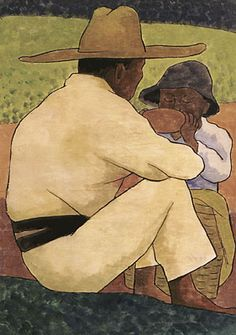 diego rivera- Man and Boy Más Diego Rivera Art, Diego Rivera Frida Kahlo, Frida And Diego, Mural Painting, Paintings, Encaustic Painting, Mexico Art, Mexican Artists, Matisse