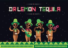 Dr Lemon Tequila by Plenty #Ilustración