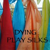 Dying play silks, (links to site for $5 a white, dyeable scarf)