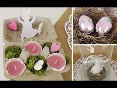 Osterdeko basteln: edle Ostereier und Eierschalen-Teelichter DIY | Deko Kitchen - YouTube