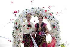 In Traditional Balinese Wedding