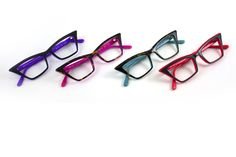 SEE Eyewear 1415 in dark Havana/aqua for me? Cat Eye Contacts, Hot Summer Looks, Lenses Eye, Eye Frames, New Glasses, Designer Eyeglasses, Eye Makeup Tips, Sunglass Frames, Reading Glasses