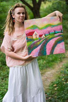 Художник и её картина