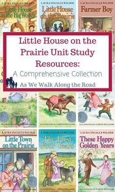 If you're reading the Little House books, don't miss this comprehensive set of unit study resources for Little House on the Prairie.