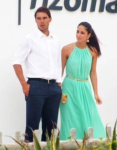 Rafa Nadal and his beautiful long term girlfriend, Maria Francisca Perelló