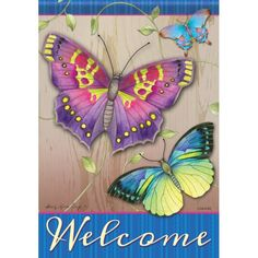 Shop the newest arrivals to our selection of home and garden decor today! Small Garden Flags, Flag Pole Bracket, Flag Code, Summer Special, House Flags, Flag Decor, Small Gardens, Home And Garden, Butterfly