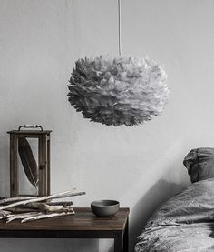 This medium grey feather light shade Vita EOS is beautiful. Perfect for the environmentally minded... An amazing feat given how luxurious this product is.