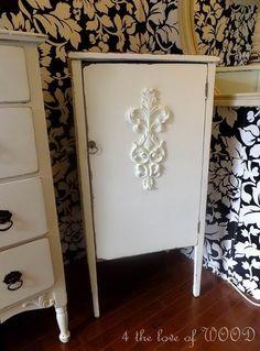 music cabinet.  .