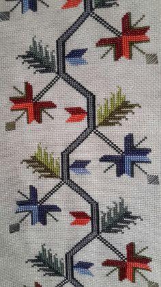 Cross Stitch Art, Cross Stitch Borders, Cross Stitch Embroidery, Hand Embroidery, Cross Stitch Patterns, Hood Pattern, Art N Craft, Diy Arts And Crafts, Fabric