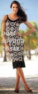 Roupas Artesanais: Vestido de Croche