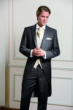 Morning suit - for the groom