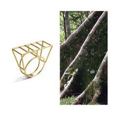 Brinco Tijolinho em ouro amarelo 18k. #design #jóias #vr