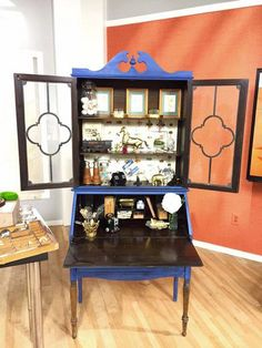 Great secretary in Windsor Blue by Holly Ord.