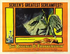 Hammer Film Double Feature - Revenge of Frankenstein & The Curse of the Mummy's Tomb Blu-ray