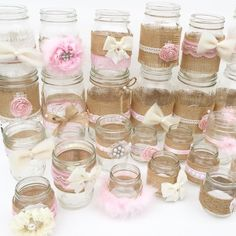 ideas shabby chic baby shower ideas for girls centerpieces for 2019 Rustikalen Shabby Chic, Shabby Chic Wedding Decor, Shabby Chic Flowers, Shabby Chic Baby Shower, Shabby Vintage, Elephant Baby Shower Centerpieces, Baby Shower Favors, Baby Shower Parties, Baby Shower Themes