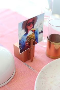 The easiest place card holder you'll ever make...great for rustic or country theme weddings.