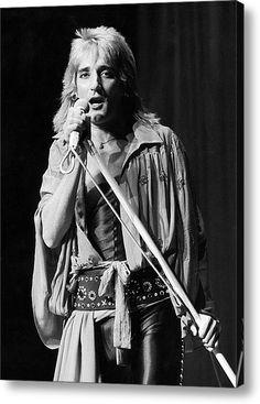 Rod Stewart 6 British Music Rock Singer Poster Legend Star Photo Black White