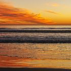 Reflections at Sunset in Oceanside - January 16, 2015