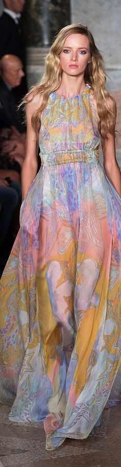 Emilio Pucci Collection Spring 2015