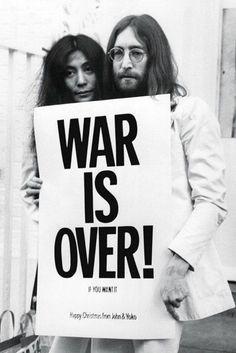 ♥♥Yoko Ono-Lennon♥♥ ♥♥John W. O. Lennon♥♥ Wish I could say the same....