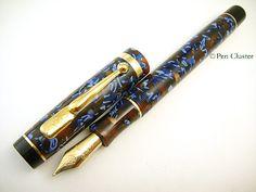 Conway Stewart Duro Flecked Autumn - Conway Stewart   Pen Cluster
