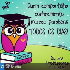 frases para o dia dos professores coruja                                                                                                                                                                                 Mais Jean Piaget, Teachers' Day, Reading Quotes, Posca, Silhouette Projects, Teacher Gifts, Diy And Crafts, Clip Art, Instagram