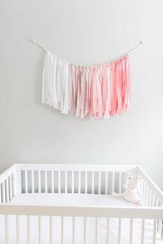 Sweet + Simple Pink Flamingo Inspired Nursery: Photography: Ruth Eileen Photography - rutheileenphotography.com
