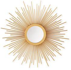 Home Design Studio Small Sunburst Mirror