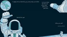 """""""It suddenly struck me that that tiny pea, pretty and blue, was Earth...."""" - Neil Armstrong (Zenpencils.com) - Imgur"""
