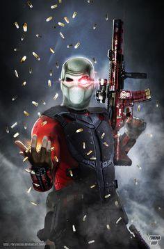 Will Smith Deadshot Fan Art by Bryanzap