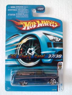 2006 HOT WHEELS FIRST EDITIONS '55 CHEVY PANEL #37 / 38
